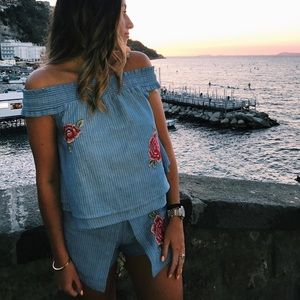 Two Piece Perfect Summer Shorts Set-Small